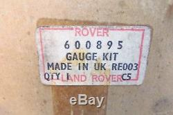 One Nos Genuine Rover 52mm Dual Jauge De Température Eau Huile Landrover Série # 600895
