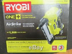 Outils Ryobi P360 18-volt One + Lithium-ion Airstrike 18-gauge Télépho Outil Boite