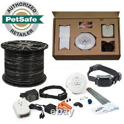 Petsafe Yardmax Inground 2 Dog Fence Bundle 18 Gauge Wire 1000'-one Bobine