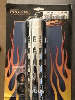 Pro-one Refroidisseur D'huile Kit Chrome Pas De Jauge Universelle 201050