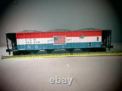 Rail King One -jauge Trains 70-75011 4-bay Hooper Car Chicago North Western Ob