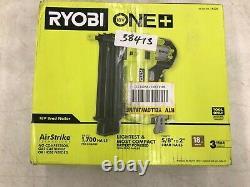 Ryobi 18 Volt One+ Airstrike Sans Fil 18-gauge Brad Nailer Avec Clip