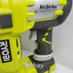 Ryobi 18 Volt One+ Airstrike Sans Fil 18-gauge Brad Nailer (outil Seulement)