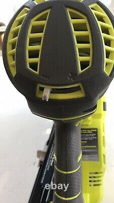 Ryobi 18 Volt One+ Lithium-ion Airstrike 15-gauge Angled Finition & Batterie