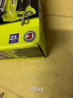 Ryobi 18 Volt One + Sans Fil Airstrike 23 Gauge 1-3 / 8 Acéphale Pin Cloueur Outil