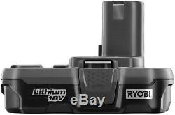 Ryobi 18 Volts One + Lithium-ion Sans Fil Airstrike 16-gauge 2-1 / 2 Droit Ah