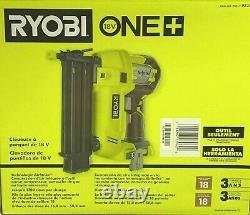 Ryobi 18-volt One+ Cordless Airstrike 18-gauge Brad Nailer P320 (exploitation Free)
