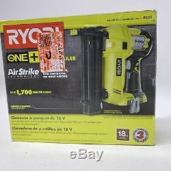 Ryobi 18-volt One + Sans Fil Airstrike 18 Gauge Cloueuse