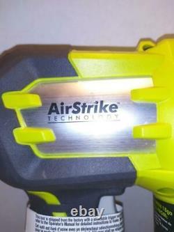 Ryobi 18v 18-volt One (p320) Airstrike 18-gauge Cordless Brad Nailer (tool-only)