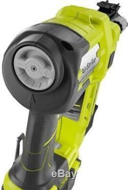 Ryobi Brad Nailer Tool Clou 18 V One + Cordless Airstrike 18 Gauge Tool Gratuit