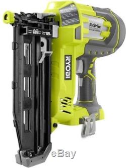 Ryobi Cloueuse Droite Sans Fil 16-one One + Airstrike 16-gauge (outil Seulement)