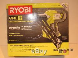 Ryobi Cloueuse Sans Fil Coudée Airstrike One + 18 Volts, 15 Volts, F / Ship-nisb