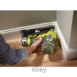 Ryobi Finition Nailer One+ 18v Lithium-ion Airstrike Angle 15-gauge (outil Seulement)