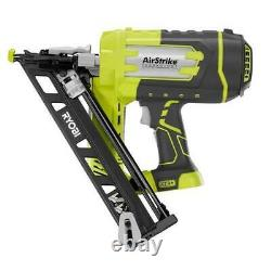 Ryobi One+ 18-volt 15-gauge Airstrike Cordless Angled Nailer (outil Seulement)