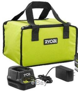 Ryobi One + 18v Airstrike Calibre 18 Cloueuse P320 Batterie + Chargeur Bundle Lot