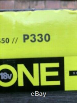 Ryobi One + 18v Sans Fil De Calibre 15 Angled Cloueuse De Finition P330