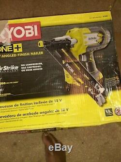Ryobi One + 18v Sans Fil De Calibre 15 Angled Cloueuse Modèle # P330