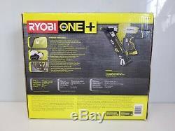 Ryobi One + P330 Airstrike 18v Calibre 15 Angled Cloueuse De Finition (outil Uniquement) Nouveau
