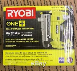 Ryobi P318 18-volt One + Airstrike 23-gauge Sans Fil Cloueuse 160360
