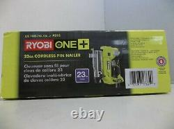 Ryobi P318 18-volt One+ Airstrike 23-gauge Sans Fil Nailer Outil De Puissance Seulement