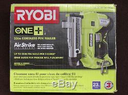 Ryobi P318 18-volt One + Airstrike 23-gauge Sans Fil Pin Cloueur 160360 18v