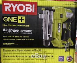 Ryobi P318 18v One + Airstrike Sans Fil De Calibre 23 1-3 / 8 Acéphale Pin Cloueur