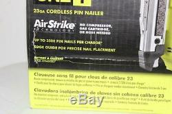 Ryobi P318 18v One + LI Airstrike Sans Fil De Calibre 23 1-3 / 8 Headle Pin Cloueur Nue