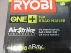 Ryobi P320 18-volt One + Sans Fil Airstrike 18 Gauge Cloueuse Nu Outil Nouveau