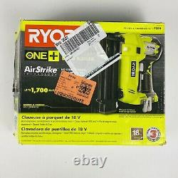 Ryobi P320 18v 18 Volt One+ Airstrike 18-gauge Sans Fil Brad Nailer (outil Seulement)