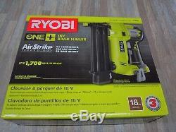 Ryobi P320 18v 18-volt One + Airstrike 18 Gauge Sans Fil Cloueuse (sans Outil Uniquement)