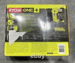 Ryobi P320 18v 18-volt One+ Airstrike 18-gauge Cordless Brad Nailer Flambant Neuf