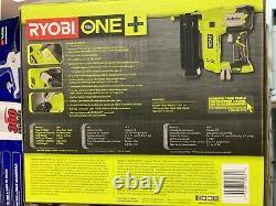 Ryobi P320 18v 18-volts One+ Airstrike 18-gauge Cordless Brad Nailer (tool-only)