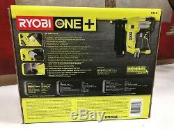 Ryobi P320 18v One + Airstrike 18 Gauge Sans Fil Cloueuse (sans Outil Uniquement) Nouveau
