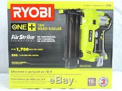 Ryobi P320 Airstrike 18 Volt One + Outil De Clouage Brad Sans Fil 18 Gauge De Li-on