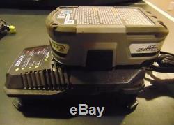 Ryobi P320 Cloueur Sans Fil 18 V One + 18 Gauge, Chargeur Et Batterie 3.0