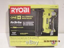 Ryobi P320 Cloueuse Sans Fil 2grads De Calibre 18 +, One500, Neuf, En Boite
