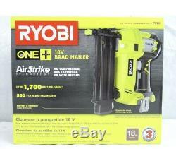 Ryobi P320 Outil De Clouage Brad Sans Fil De Calibre 18 Sans Fil Li-on Nouveau