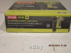 Ryobi P325 18 Volts One + 16 Gauge Sans Fil Fini Livraison Gratuite Sans Cloueur En Boîte