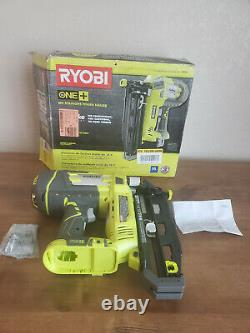 Ryobi P325 18-v One Cordless Airstrike 16-gauge Tool Only With Sample Nails