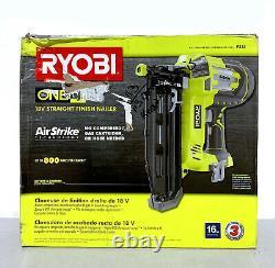 Ryobi P325 18v One + Airstrike Calibre 16 Sans Fil Droite Cloueuse De Finition