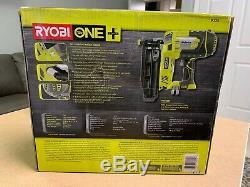 Ryobi P325 18v One + Li-ion Sans Fil Calibre 16 Droite Cloueuse De Finition Outil Seulement