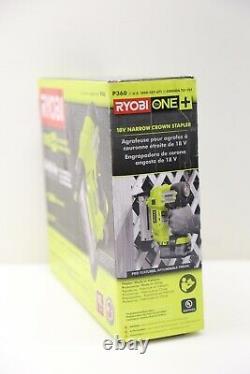 Ryobi P360 18-volt One+ Airstrike 18-gauge Cordless Straight Nailer (tool-only)