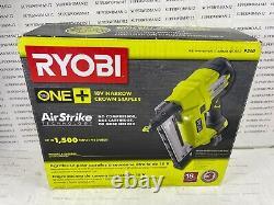 Ryobi P360 18-volt One+ Airstrike 18-gauge Nâiler Droit Sans Fil (uniquement Pour L'outil)