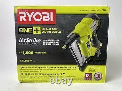 Ryobi P360 18v One+ Airstrike 18 Gauge Cordless Narrow Crown Stapler New In Box