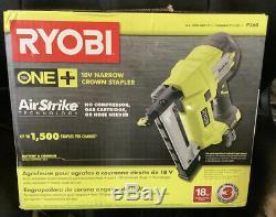 Ryobi P360 18v One + Airstrike 18 Gauge Sans Fil Raffinez Agrafeuse Nouveau Dans La Boîte