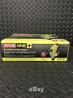 Ryobi P360 18v One + Lithium-ion Airstrike 18 Gauge Sans Fil Raffinez Agrafeuse