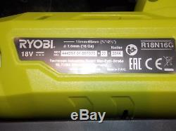 Ryobi R18n16g-0 One + 18v 16 Gauge Cloueuse Sans Fil