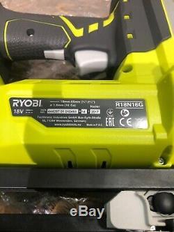 Ryobi R18n16g-0 One + 18v 16 Gauge Nailer Corps Sans Fil Uniquement Nouveau