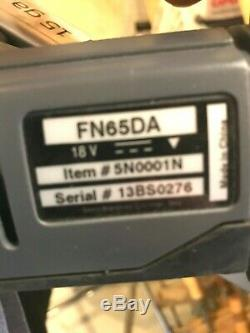 Senco Sans Fil Coudé Cloueuse De Finition 15 Gauge 2-1 / 2 Fn65da Fusion F-15 Dernier