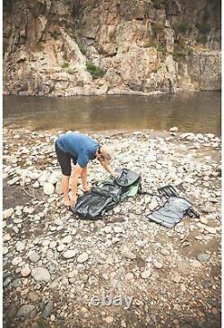 Sevylor K5 Quikpak Sac À Dos Gonflable À Une Personne Kayak 24-gauge Pvc Ez Set-up